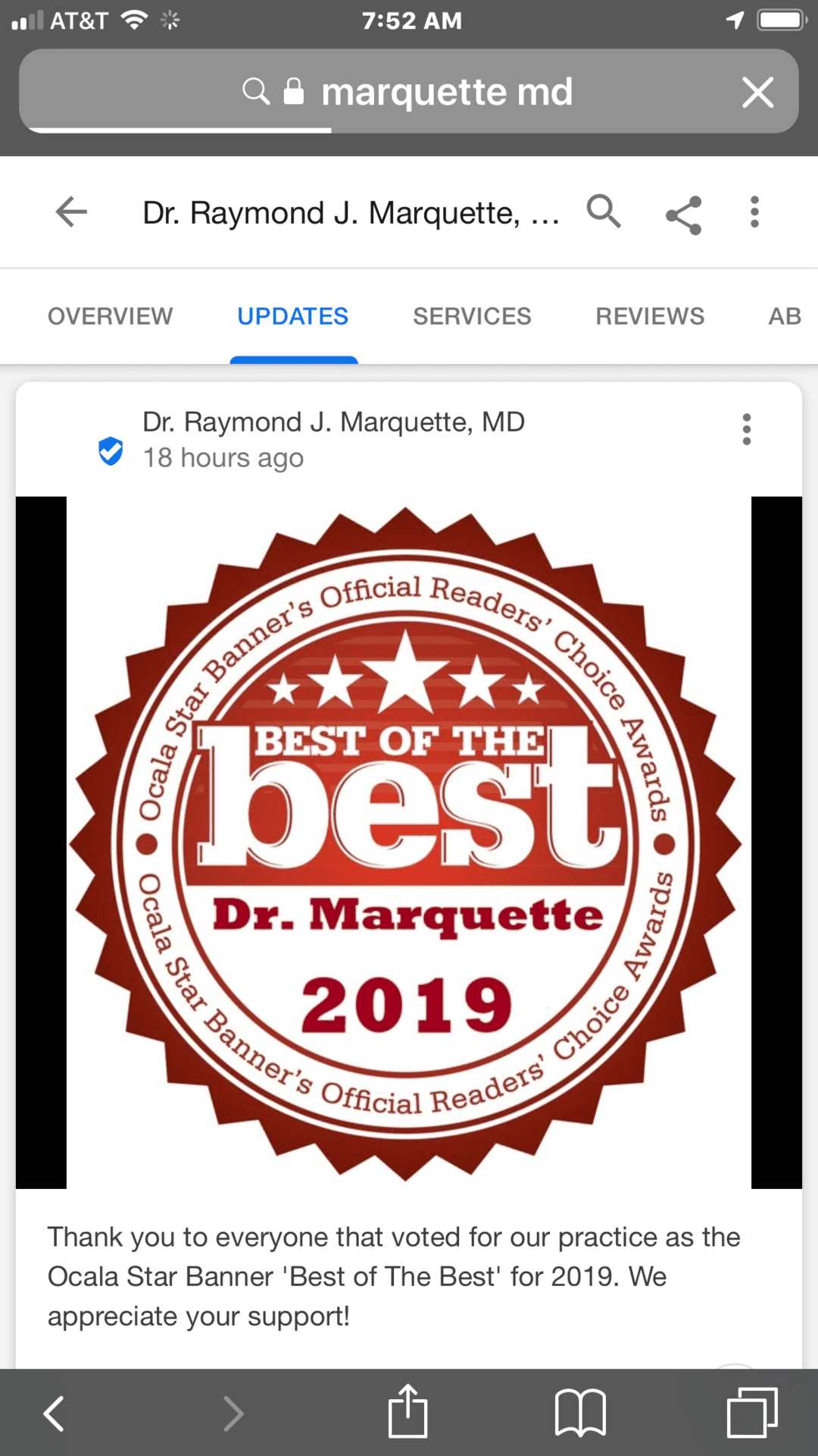 the best of the best award pic